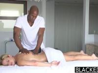 Hot Southern Blonde Takes Big Black Cock