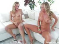 Samantha Saint & Bailey Blue Fuck & Masturbate
