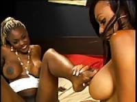 Black lesbian foot sex - Lacey and Coco