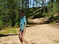 Junge Teenager In der Natur