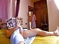 Horny Moroccan maid