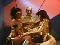 Science Fiction sex, starred by porn legend Mai Linn