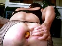 Anal Fruit Salad and Dildo Delight
