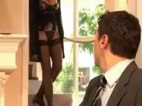 The brunette mature of my neighbouhood is a real hooker