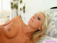 Jordan's perfect body and pussy love to get off