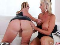 EvilAngel Naughty MILFs Squirt and Stretch Pussies