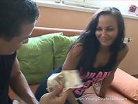 Hot slut earns money