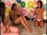 Nasty lesbian teen bitches
