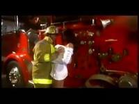 Fireman pumping