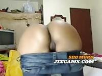 Busty Latina on cam