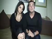 Amateur French couple fucking