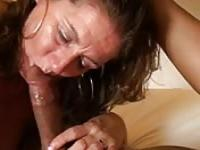 Fucking with my slutty mother in law on the couch