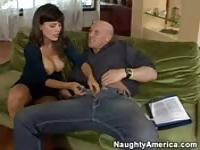 Lola del Valle seducing her English teacher