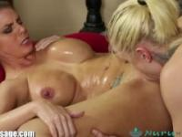 NuruMassage Brooklyn Chase's Erotic Lesbian 69 treatment