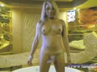 Blonde ladyboy Tiffy for TWA