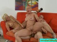 Milf stepsisters kinky family threesome