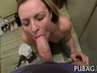 Stimulating blowjob delights