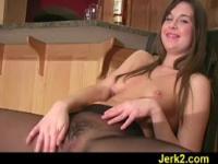 JO instructor Adrienne wants your cum