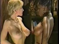 Ebony Ayes and Danni Ashe - Wrestling