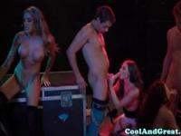 Cocksucking babes hardcore orgy fun