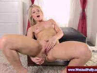 Großer Taco Blonde und ihre Muschi-Pumpe