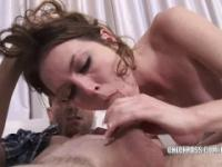 Cute coed Megan Loxx gets her sweet twat pounded hard