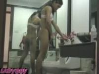 Peeing Ladyboys