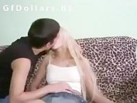 Euro teen chick sells her pussy