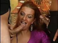 Double fuck for redhead