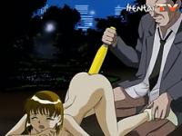 Hentai with tight ass gets stretched to the limit