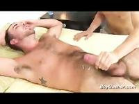 Parker Perry gets a handjob with happy ending