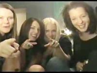 Four American Girls Funny SPH for Asian Arabs Pakis Gooks Jews and Irishmen