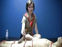 Girl Scout Earning Her Handjob Patch WF