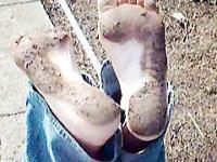 Donna Queen's Dirty Feet