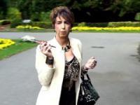 Mandy Pink Public Holder Smoke
