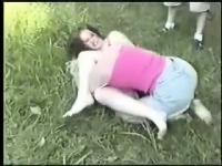 Kristy vs Amanda extreme catfight girlfight hairpulling