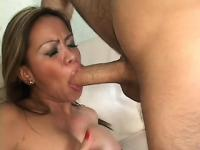 Stacked beautiful milf named Mika pleads for super nice fucking