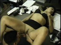 A flexible young babe gets her slit dicked in a lot of positions