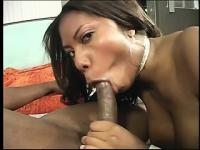 Her big natural knockers are awesome but her juicy hole is even better