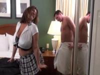 Maria Moore is a sexy secretary