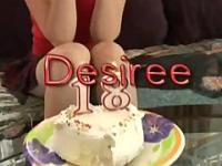 Desiree feliz 18 cumpleaños a mí