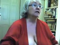 Gran abuela y se masturba