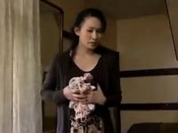 Hairy Frustrated Japanese Mother Wants Sex