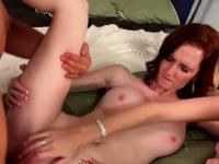 Wild Sexy Hotties Share Hard Cock And Jizz