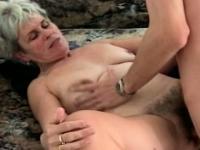 Hairy Granny Melinda Fucked