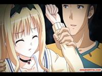 Schoolgirl anime cutie bigtittyfucking