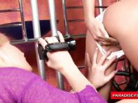 Gina gets out the handycam to make a special naughty movie of her best friend Suzie!