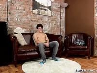 Fit Boy James Wanks Out A Load - James Lain