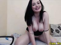 Busty French Melissa Loves it Slow and Deep