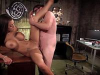 Massive tits Courtney Taylor hard fucked